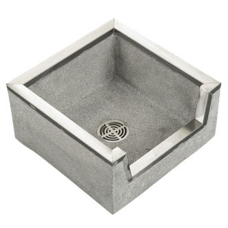 Superieur TSB3000 Stockton Square Mop Service Sink Shown In Grey (501) ...