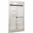 "MS-348 1-PIECE SHOWER  50"" x 34"" x 88-1/2"""